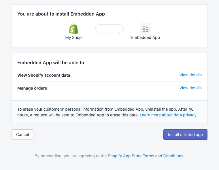 OAuth · Shopify Help Center