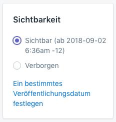 Shopify - Seiten erstellen