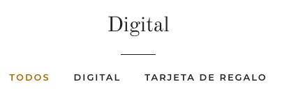 Debajo del título de la colección se muestran tres etiquetas: