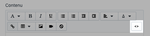 Shopify - montrer l'éditeur de page html