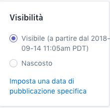 Shopify - Crea pagine