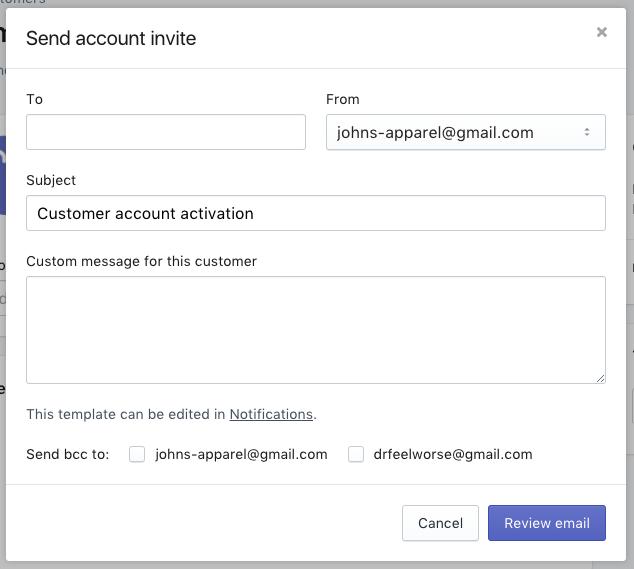 Customer accounts · Shopify Help Center
