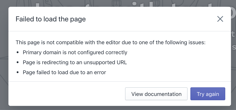 Primäre Domain ist nicht richtig konfiguriert