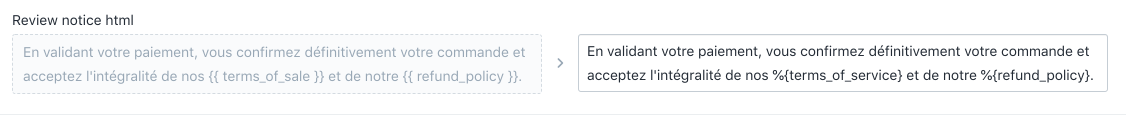 French review notice html