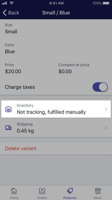 Tracking and adjusting inventory · Shopify Help Center