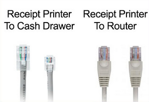 Shopify POS receipt printer cables