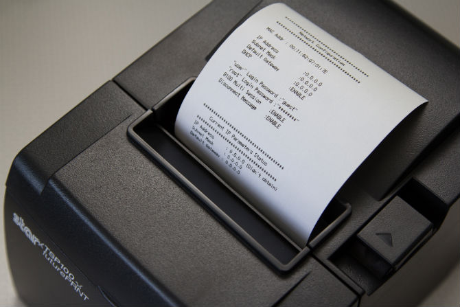 Star Micronics TSP100IIIW (Wifi) receipt printer · Shopify