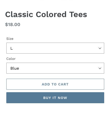 Dynamiczny przycisk realizacji zakupu bez oznaczenia marki, zawierający tekst Kup teraz